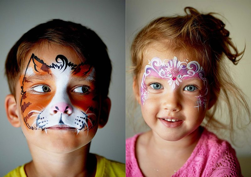 Face Painting and Children's Imaginations