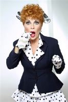 I love lucy lucille ball celebrity impersonator