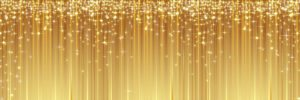 sparkly yellow star magic background