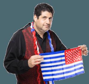 steve the magician reverse flag magic trick
