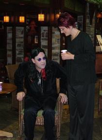 sharon and ozzy osborne celebrity impersonator